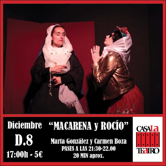MACARENA Y ROCÍO Marta González y Carmen Boza