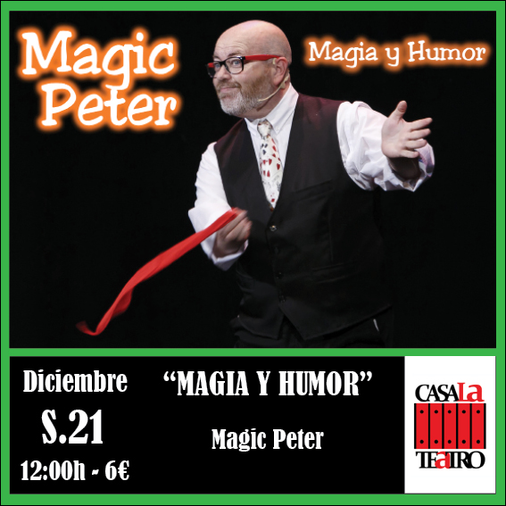 ET HUMOUR avec MAGIC magie Peter