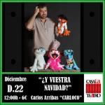 And YOUR CHRISTMAS? Carlos Arribas CARLOCO
