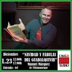 CHRISTMAS AND FABLES OF THE GUADALQUIVIR with Manuel Márquez de Villamanrique