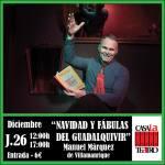 NAVIDAD Y FÁBULAS DEL GUADALQUIVIR con Manuel Márquez de Villamanrique
