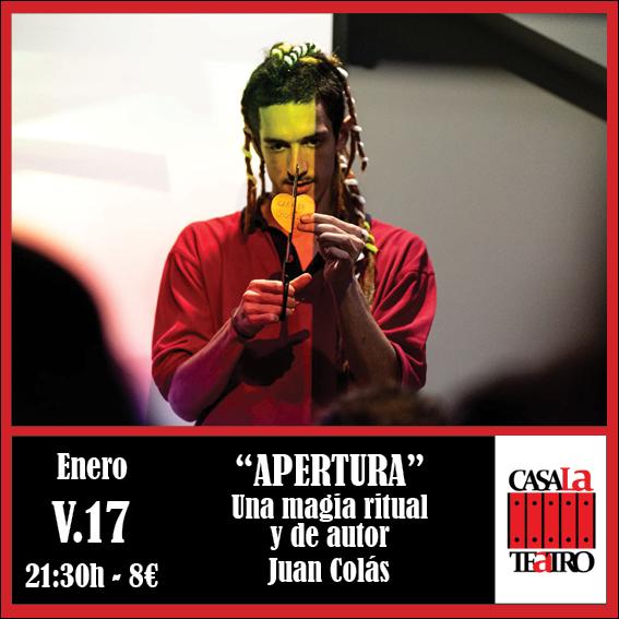 APERTURA con Juan Colás