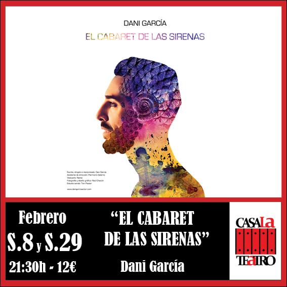 THE CABARET Sirens with Dani García