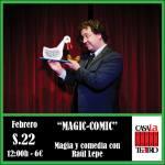 Magie et comédie Raul Lepe