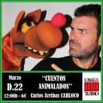 TALES ANIMALADOS with Carlos Arribas CARLOCO